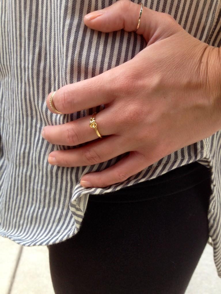 Rings: Kate Spade, Nordstrom BP.