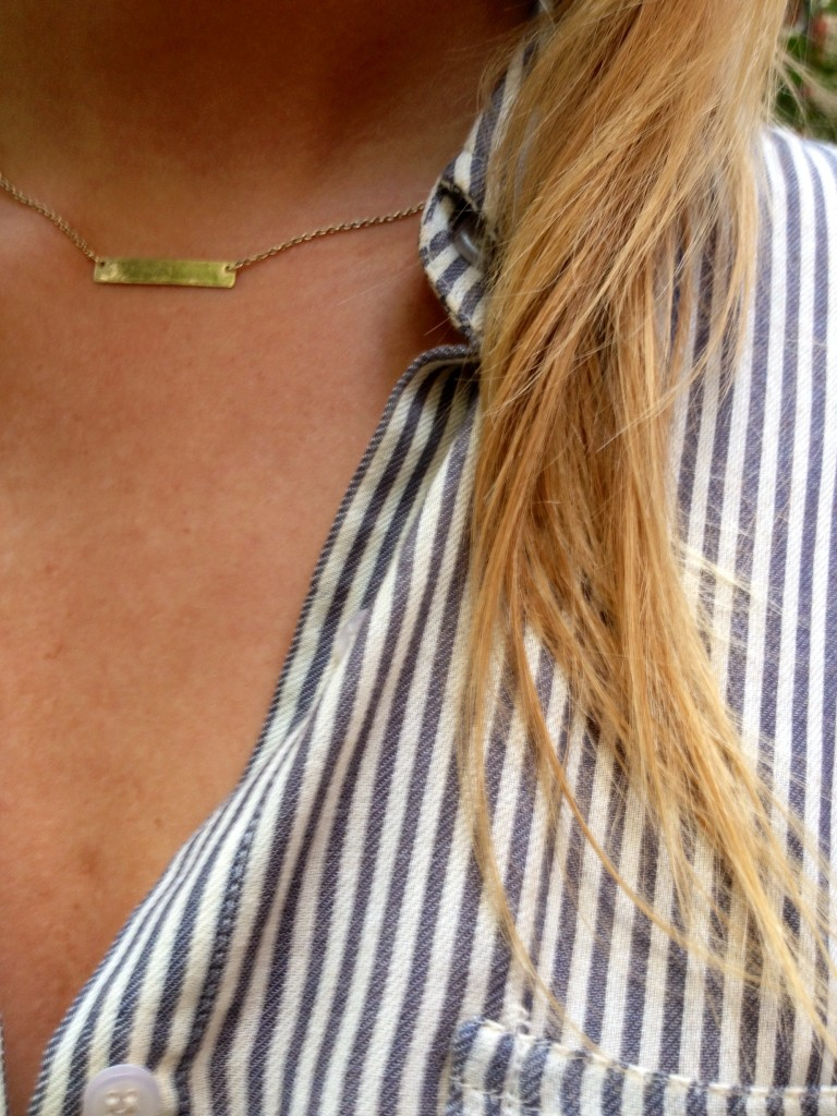 Necklace: Urban Outfitters.