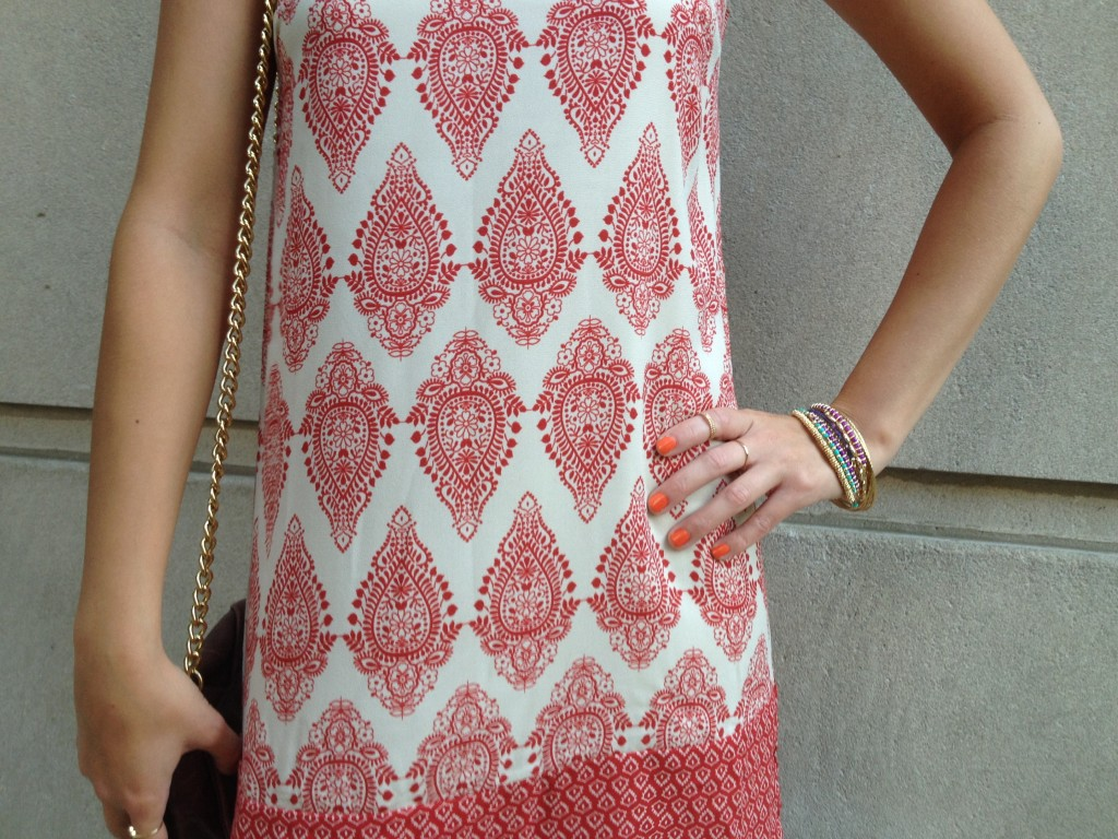 Love this print. So summery and chic.