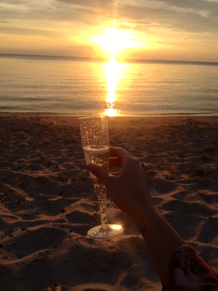 Cheers to summer. <3
