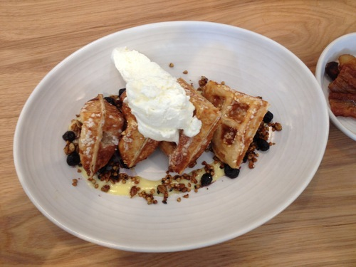 Waffle at the Winchester Chicago.