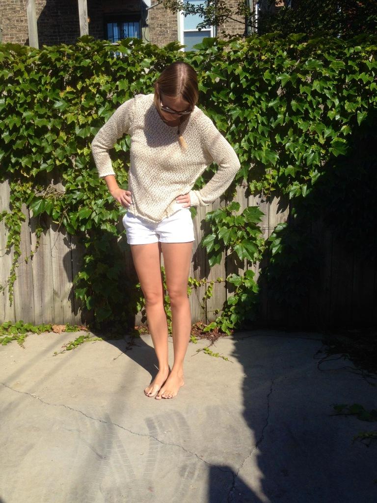 Barefoot -- favorite kind of shoe :)