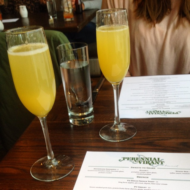Doses and mimosas. ??#regram #chicagoblogger #chicago #fashionblogger #fashion #midwestbloggers