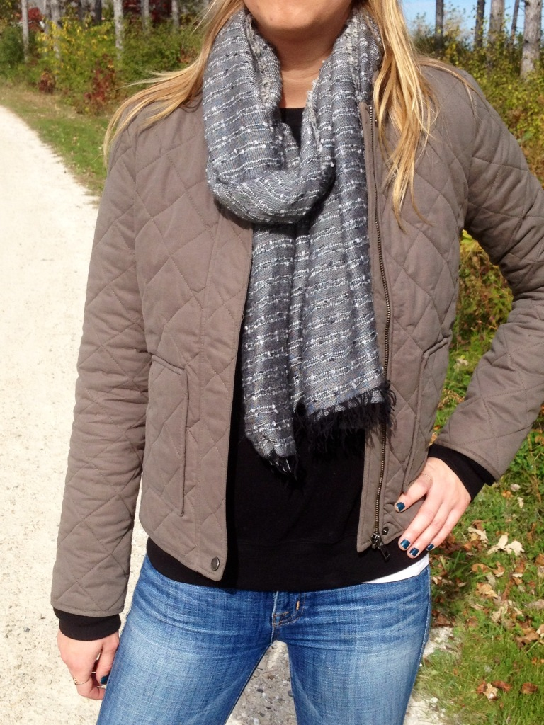 Literally in love with this scarf -- it goes with almost anything.