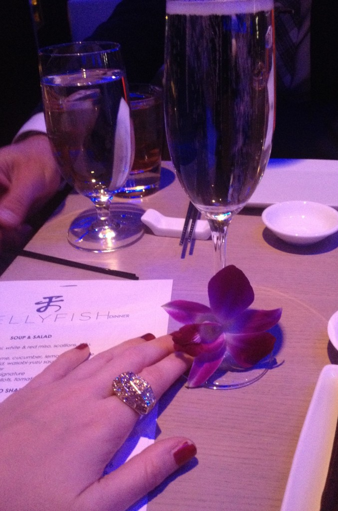 A little bling with my orchid.