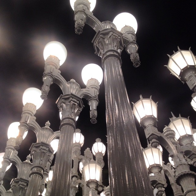 All of the lights. #LA