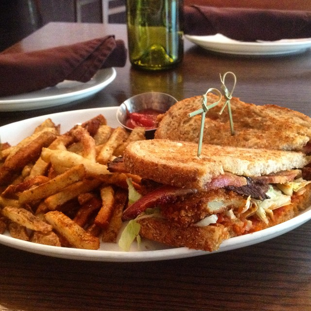 Now that's a BLT. ?@artandsouldc #lunching #dc